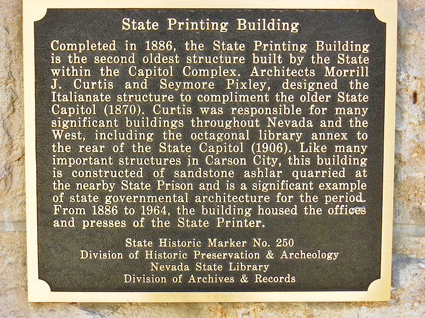 State Printing Building