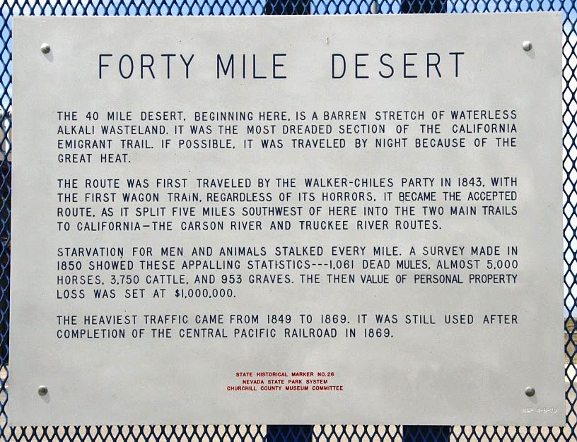 Forty Mile Desert