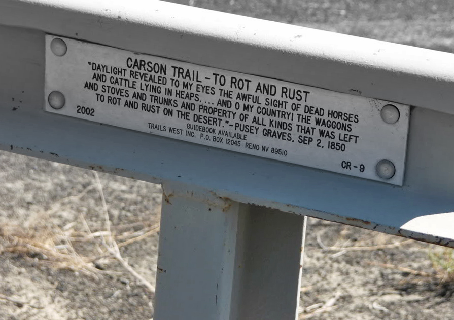 Memorial on the California Emigrant Trail