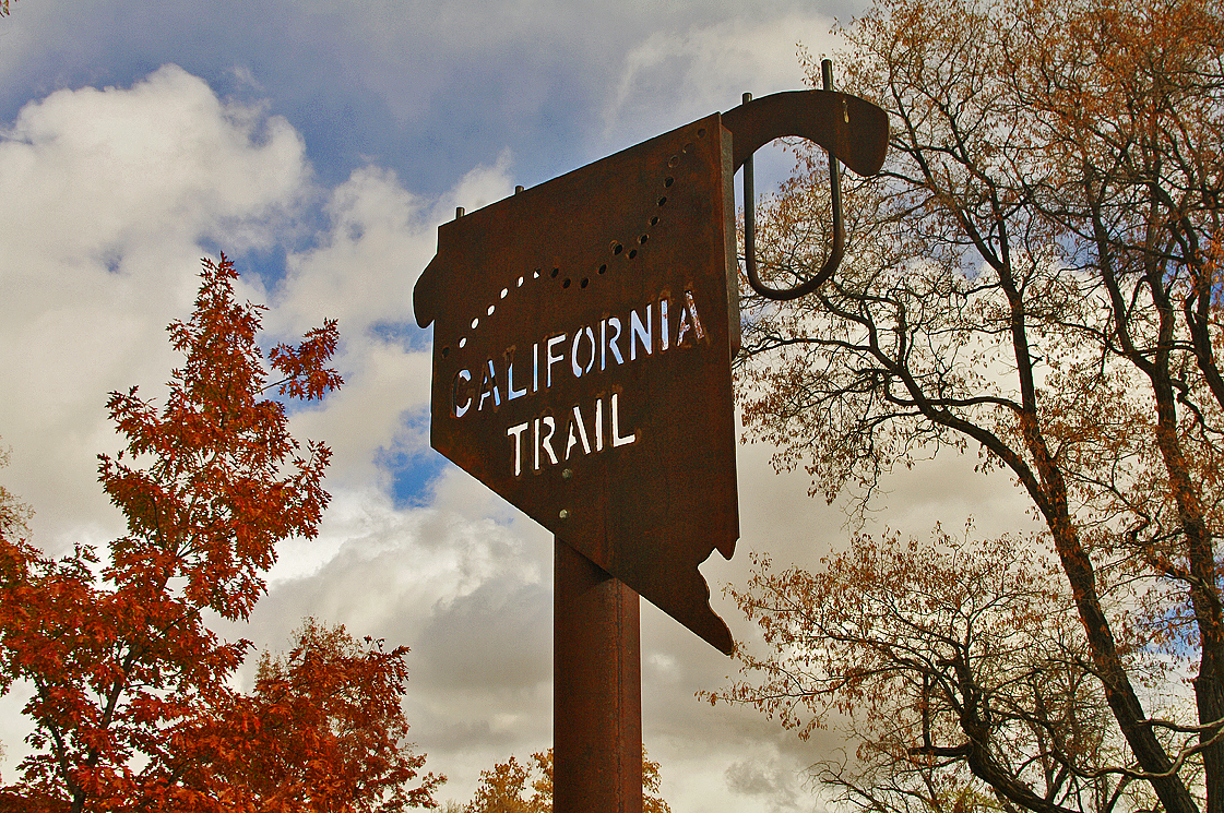 On the California Trail in Pershing County