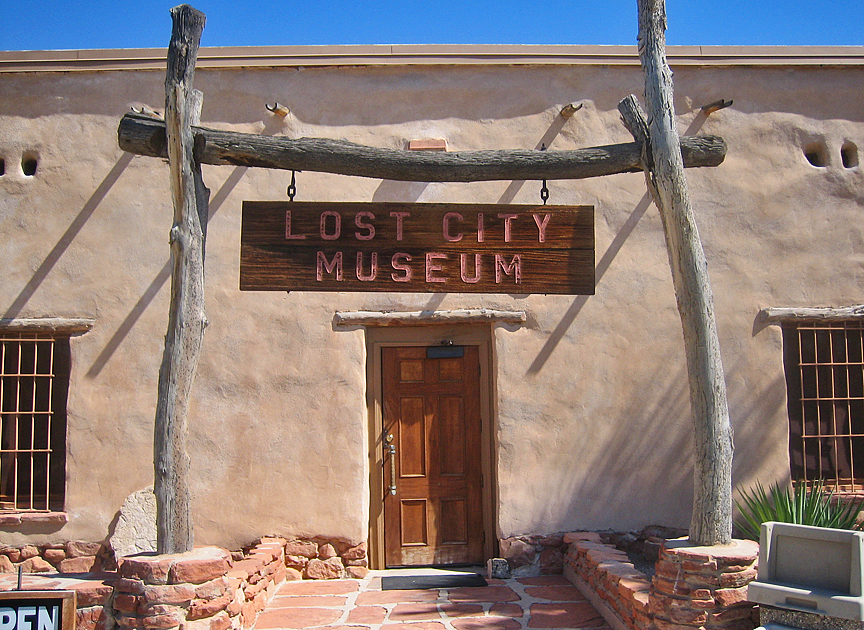 The Lost City Museum in Overton contains some of the best exhibits of Anasazi anywhere in North America